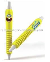 cartoon soft EVA rubber pen with personalized logo