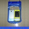 Recyclable PVC waterproof mobile bag with drawstring