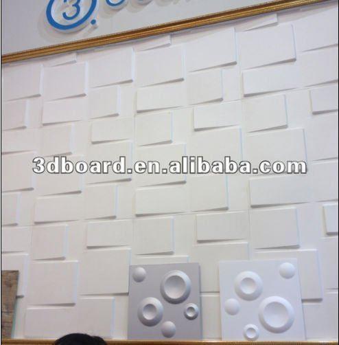 mdf feita por fibra vegetal painel de parede Outras placas  ~ Revestimento Em Pvc Para Quarto