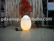 PE material plastic magic shine led egg berth lamp