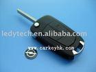 Opel key blanks,Victra 2 buttons flip remote car key shell& key cover&key case