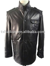 2012 newest men's 100% sheepskin coats &fashion style