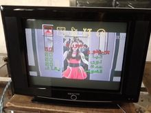 14 inch CRT TV,hotel CRT television,complete colour TV set,