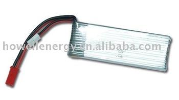 2250mAh 43.5g typical capacity 2300mAh li polymer battery