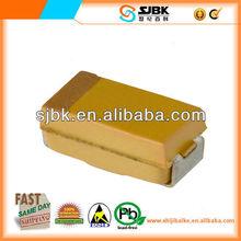 TAJS225M010RNJ CAPACITOR TANT 2.2UF 10V 20% SMD air conditioner capacitor