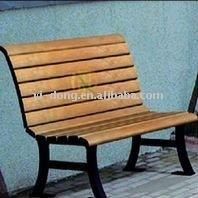 Wooden garden furniture leisure bench