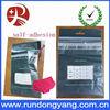 resealable header plastic self-adhesive opp bags