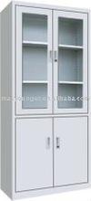 glass door steel office bookcase