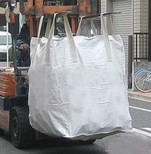 100% virgin pp big bag, big designer bags for pea gravel, copper ore