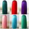 High Quality Factory Price Colorful synthetic hair wigs