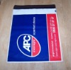 plastic courier bag/courier mail bags/black&white mailing bag