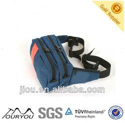 2013 new design navy blue money belt waist bag (414017)