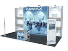 frameless booth / exhibition booth customize size, item-36002 also provide printing service, easy changing picture