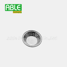 Shanghai Able Packing disposable household aluminium foil container egg tart plate in China