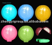 bubble gum rolls plastic packaging/mini plastic containers