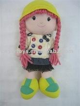 venta al por mayor de la felpa juguetes muñeca de trapo
