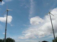 Hummer wind turbine generator 3kw battery based