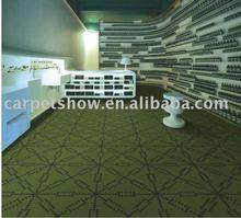 Floor carpet / Nylon printed carpet tiles