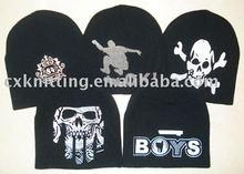 printed winter hats
