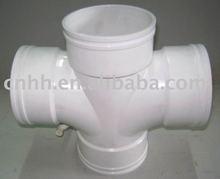 customer design cross shape plastic pipe mould