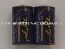 R20p 1.5v heavy duty D size battery ,dry battery