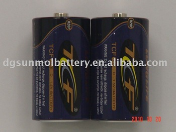 R20p 1.5v heavy duty D size battery ,dry battery