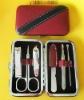 Mini rectangle case manicure set with 6pcs nail tools