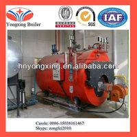 2t/h LPG fired steam boiler for chicken