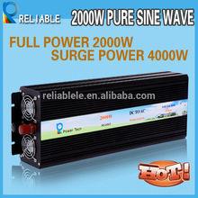 Ups pure sine wave power inverter 2kw