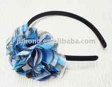 best seller colorful strip flower headband alice band