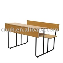 durable double student desks and chairs