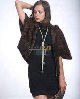 QD10036 Sexy Dresses For Women 2014 Knitting Mink Fur Vest Waistcoat