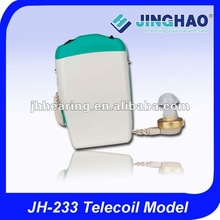 Promotional hearing aid pocket wire less body style