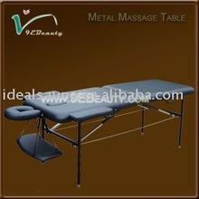 Metal newest design facial massage bed/massage table