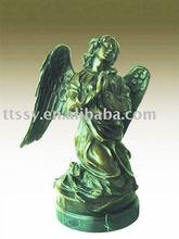 Bronze angel figure sculpture art