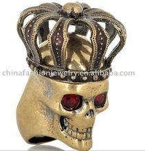ARG00412 New Exquisite Antique Skull Ring in 2012