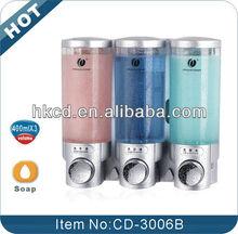 400ml hot sale hotel triple soap dispenser CD-3006B