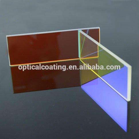 Láser dicroico lente óptica rojo espejo dicroico