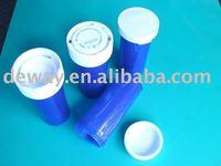 plastic drug vials