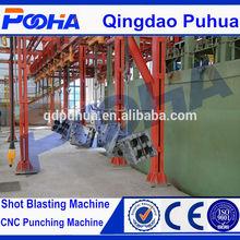 high quality steel shot blasting machine of Q38