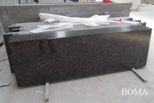 Polished Tan Brown Kitchen Granite Worktopwt Bullnose Edge