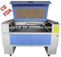 Alta precisão laser lenhador jq1290 com ce/fda