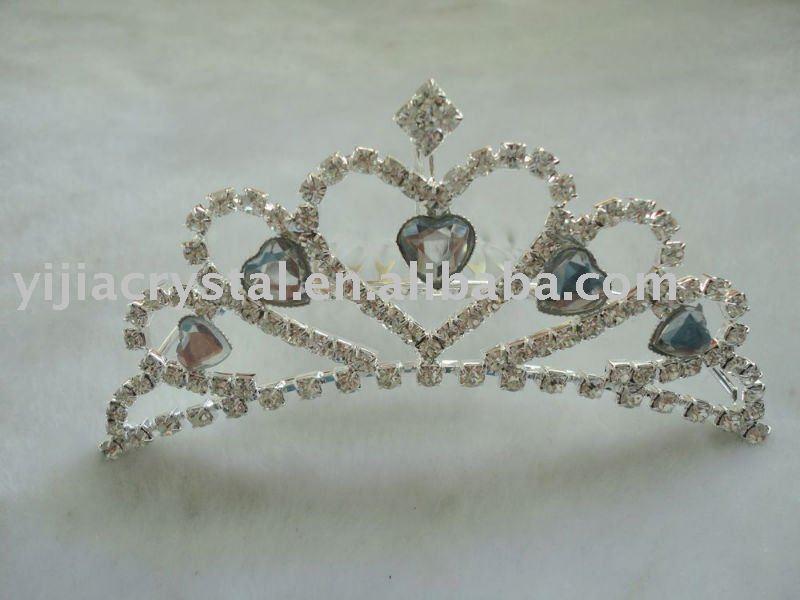 Cheap Crystal rhinestone tiara crowns