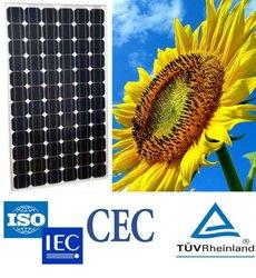 high efficiency mono solar panels hold TUV