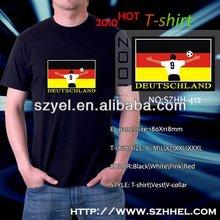 Manufacturer music actived equalizer 3d el panel/2AAA battery inverter el t-shirt online shopping