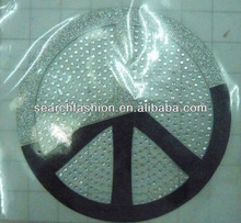 special and hot sales glitter with rhinestone transfer designs