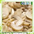 Frais tranches bouton champignons