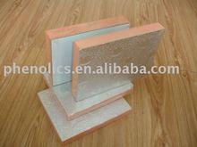 Rigid phenolic sandwich air duct board