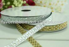 Metallic Yarn packing ribbons for Christmas