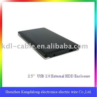 HOT selling SATA External hard disk enclosure, with CE and Rohs
